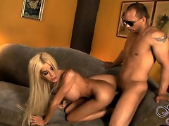 Busty Kimber gets her tight ass drilled