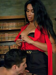 He can't take the heat coming from Vaniity's balls deep thrusting. Vaniity fucks him until he taps out, cums a HUGE dumping load on his face