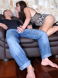 Horny Sabrina getting drilled by Tony