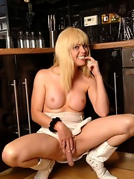 I pop round to a friend's house and the next thing you know, I am stripped naked and getting hard in the kitchen!