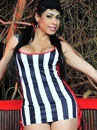 Irresistible Bruna Rodriques posing her luscious body