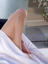 Horny Jesse In The Bed