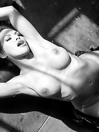 Beautiful transsexual Foxxy posing her seductive body
