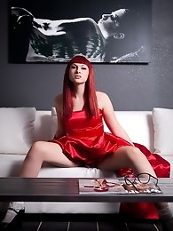 Smoking hot TS prom queen Bailey Jay teasing