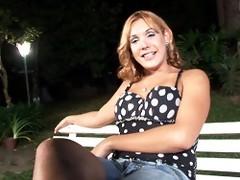 Alexia Freire Masturbating Outdoors
