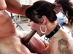 Complete sex change tranny getting banged hard
