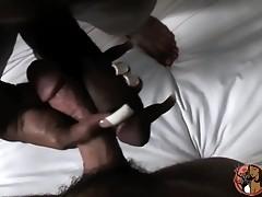 Irresistible black tgirl Natalia Coxxx giving a POV blowjob